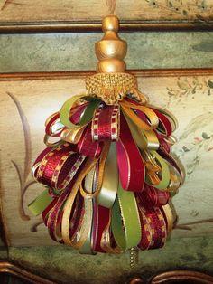 Victorian/Golden Decorative Tassel.  via Etsy.