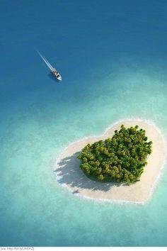 heart Island :)