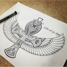 Egyptian (Unknown Artist) <3
