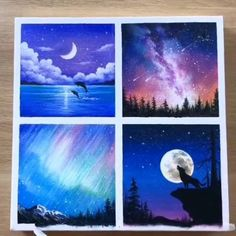 Simple Canvas Paintings, Diy Canvas Art, Canvas Painting Tutorials, Acrylic Painting Inspiration, Oil Pastel Art, Art Painting Gallery, Cool Art Drawings, Abstract Pencil Drawings, Watercolor Paintings