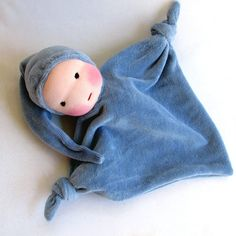 For sale I am offering one germandolls Waldorf blanket doll.This soft doll makes and ideal gift for a baby shower and great welcoming present for a