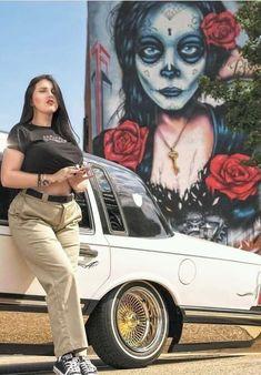Chicano Love, Chicano Art, Airbrush Art, Chevrolet Impala, Chica Chola, Estilo Chola, Santa Monica, Arte Lowrider, Chola Girl