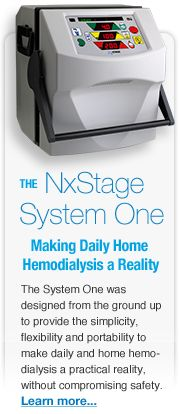 This is the home Hemodialysis machine.