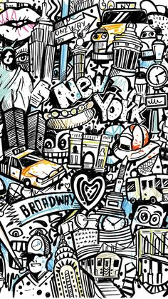 Amazing The Graffiti . Terrific The Graffiti Graffiti Wallpaper Iphone, Pop Art Wallpaper, Wallpaper Backgrounds, Iphone Wallpapers, Hello Wallpaper, Wallpaper Awesome, Wallpaper Desktop, Wallpaper Ideas, Graffiti Doodles