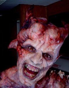 Demon makeup w/ Prosthetics