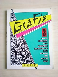 80s Graphic texture book - it is Real ! by peteserjeant, via Flickr