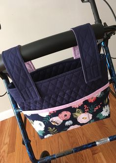 Excited to share the latest addition to my  etsy shop  Rollator Walker Bag  Navy c95b027f74050