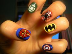 Love the black widow one especially. Must find someone to do these for Halloween.