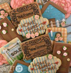 Housewarming Sugar Cookies Sweet17Cookies.Etsy.com