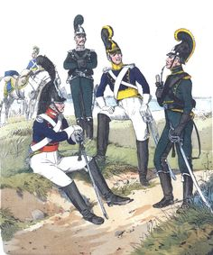 Вюртемберг. Лёгкая кавалерия. 1812 г.