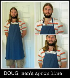dolly's designs: The New Men's Apron Line