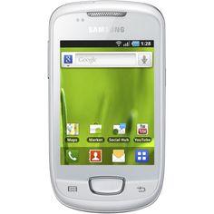 Telefon Mobil SAMSUNG Smartphone S5570i GALAXY Pop Plus, CPU 832 MHz, RAM 384 MB, microSD, 3.14 inch (240x320), OS Android 2.2 (Chic White) - Totul Ieftin