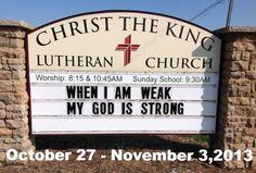 Christ the King Update week of October 2013 Christ The King, October 27, Lutheran, Sunday School, Worship, Ohio, Columbus Ohio