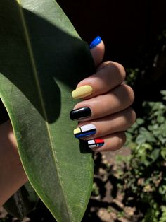 Nail Colors, Chile, Cool Stuff, Beauty, Instagram, Red, Blue, Black, Colors