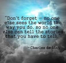 Believe that...