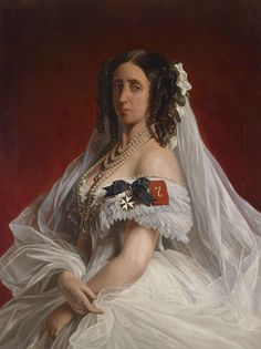 Franz Xaver Winterhalter (attr) Marie von Sachsen-Weimar (von Preußen) - Category:German royalty by Winterhalter - Wikimedia Commons