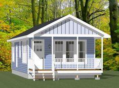 Guest Cottage Plans, Guest House Plans, House Plans For Sale, 2 Bedroom House Plans, Cabin House Plans, Modern House Plans, Small House Plans, Tiny Cottage Floor Plans, Micro House Plans