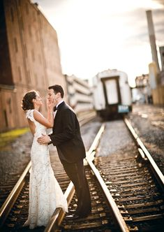 There is something so romantic about train stations, which is why they make a perfect location for an industrial chic wedding venue!