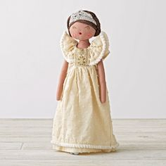 Shop Princess Fairytale Doll.  Everyone's favorite storybook heroine comes alive with our princess doll.  This classic fairytale doll features intricate embroidery and stylish dress with a sparkling tiara.
