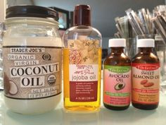 Natural Oils as moisturizers
