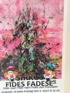 Karneval Sirkus 4. Mars på Fides Mars, Painting, March, Painting Art, Paintings, Paint, Draw