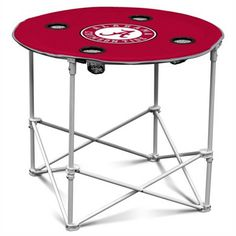 Alabama Crimson Tide Portable Table - keep sand out of food, play cards. ....take anywhere.