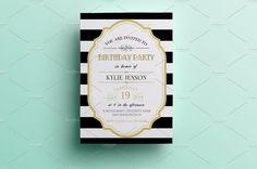 25+ Premium Birthday Party Invitation Templates – PSD,Indesign,Word