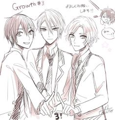 Read Ryouta-Sempai ( from the story tsukipro . by --starlights (˗ˋ yuki . Yup I'm so in love with Growth right. Cool Anime Guys, Anime Boys, Tsukiuta The Animation, Creatures, Pictures, Image, Paradise, Romance, Characters