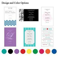 Design your Own Wedding Invitations Kit