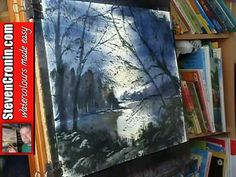 How to Paint a Quick Watercolour Impression from a Photograph - YouTube