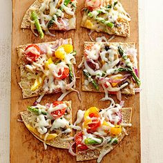 Pizza Primavera From Better Homes and Gardens, ideas and improvement projects for your home and garden plus recipes and entertaining ideas.