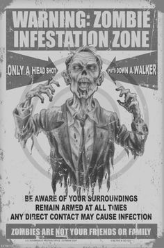 Zombie Just click the IMAGE to see more Zombie Signs on Sale