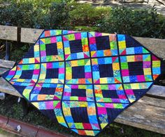 Wendy's quilts and more: Finished Quilts Scrappy Quilts, Mini Quilts, Baby Quilts, Heart Quilts, Strip Quilts, Patchwork Quilting, Picnic Quilt, Bright Quilts, Stained Glass Quilt