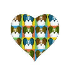 papillon dog heart