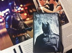 Batman Journal by OnlyOneMarkINC on Etsy, $20.00