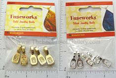 pendant bails bales silver and gold for domino and polymer clay jewelry making supplies