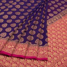 Buy Online Saris Shivangi Kasliwaal - one stop destination for shopping at Best Prices in India. Banaras Sarees, Kanchipuram Saree, Georgette Sarees, Silk Sarees, Sari Blouse Designs, Saris, Saree Wedding, Saree Blouse, Indian Wear