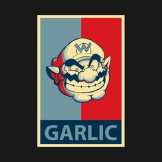 Check out this awesome 'GARLIC' design on @TeePublic!