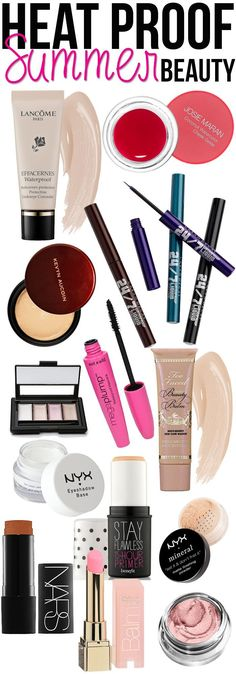 Summer Makeup Beauty Tips & Tricks! Products That won't melt away in the heat! #makeup #beauty