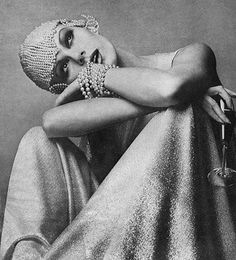 French-fashion photographer, Guy Bourdin - fashion editorial, sometime in the 1970s