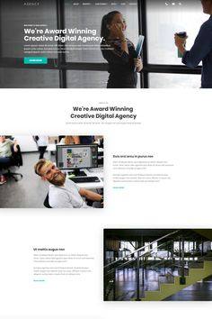 Agency - #html5  #template  for #agency  #website  #template