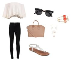 """""""Shopping Spree"""" by eleni7506 ❤ liked on Polyvore featuring Frame Denim, Apt. 9, Givenchy, Michael Kors and Kate Spade"""