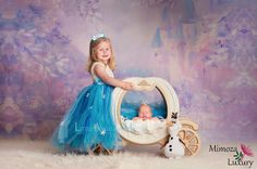 Elsa Dress Princess Flower girl dress Christmas tutu dress