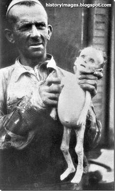 jewish baby died from starvation in the warsaw ghetto