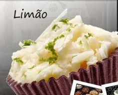 Brigadeiro Gourmet de limão e vários outros
