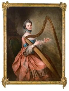 Old Paintings, Beautiful Paintings, Heartstrings, Sketch Painting, Art Music, Art And Architecture, Female Art, Itunes, 18th Century