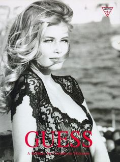 Guess, 1990 Photographer : Ellen von Unwerth Model : Claudia Schiffer