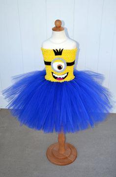 Minion Tutu Dress by CooCooForTutu on Etsy