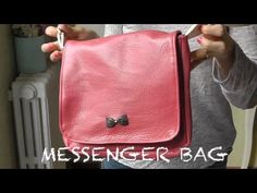 nairamkitty DIY: TUTORIAL COMO HACER UN MESSENGER BAG (PATRONES GRATIS)