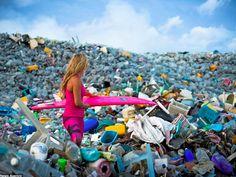ilha plastico oceano pacifico - Pesquisa Google